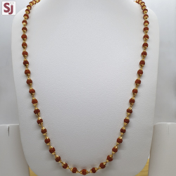 Rudraksh Mala RMG-0018 Gross Weight-21.120 Net Weight-16.660